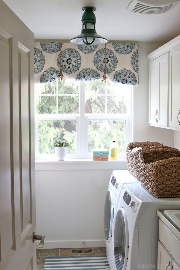 White Laundry Room Makeover Progress Green Barnlight