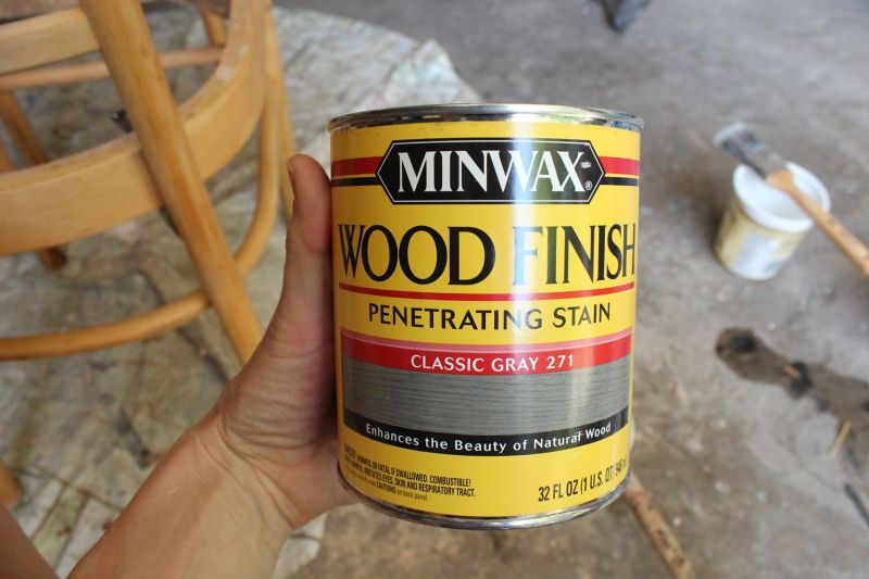 Wood finish paint