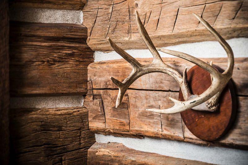 Woodland chalet in Idaho wall decor