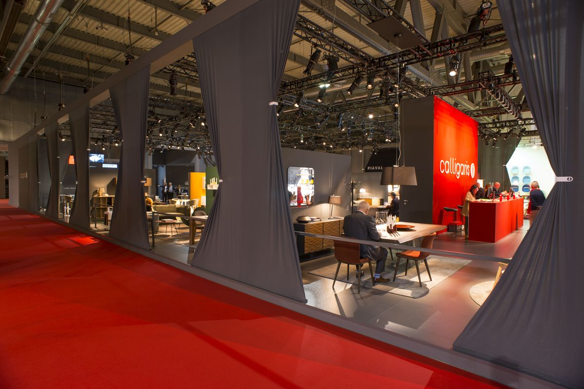 iSaloni 2016 Calligaris booth
