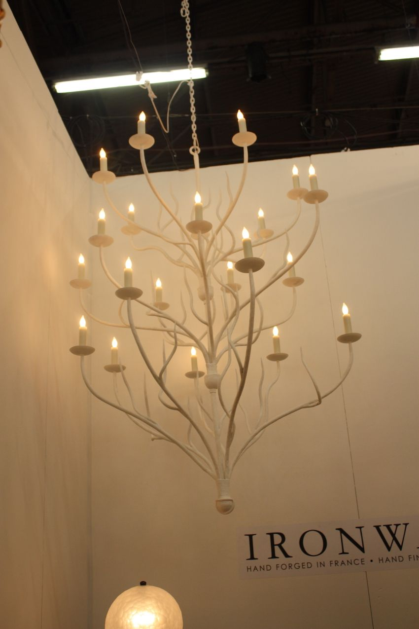 ironware tree chandelier