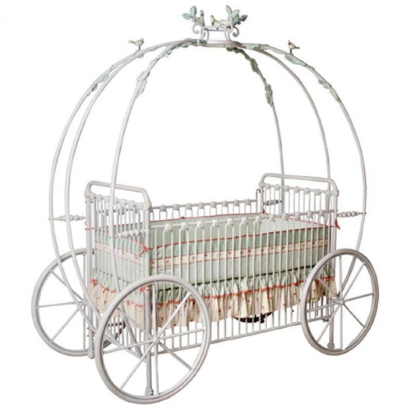 Through BogradKids, Zoya sells a wide range of unbelievable children;s furniture designs. This pumpkin carriage is a custom piece that is This is a designer product and it is available in custom sizes and many finishes. It is fitting for any little prince or princess!