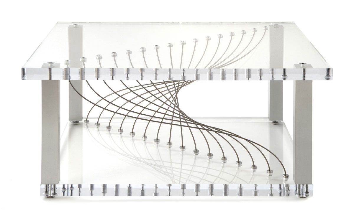 "Acrylic ""Argon"" table. Photo by stockstudiosphotography.com."