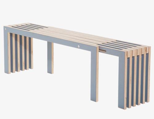 Agranda Bench design