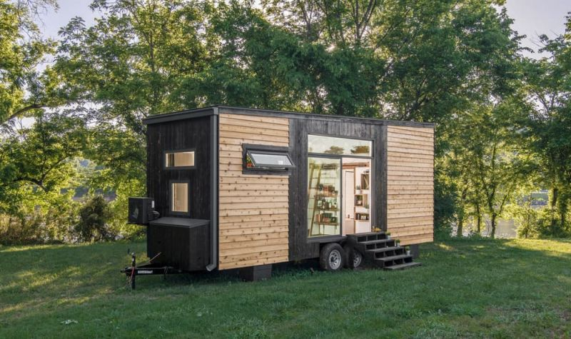 Comfort and luxury in a tiny house format - Small house planseuros ...