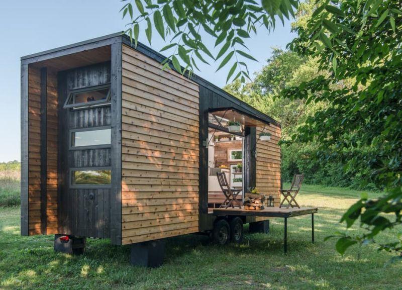 Alpha Tiny House small porch