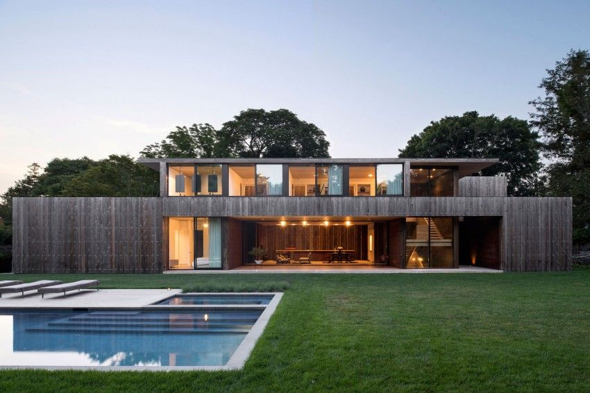 Amagansett New York House Residence With Pool
