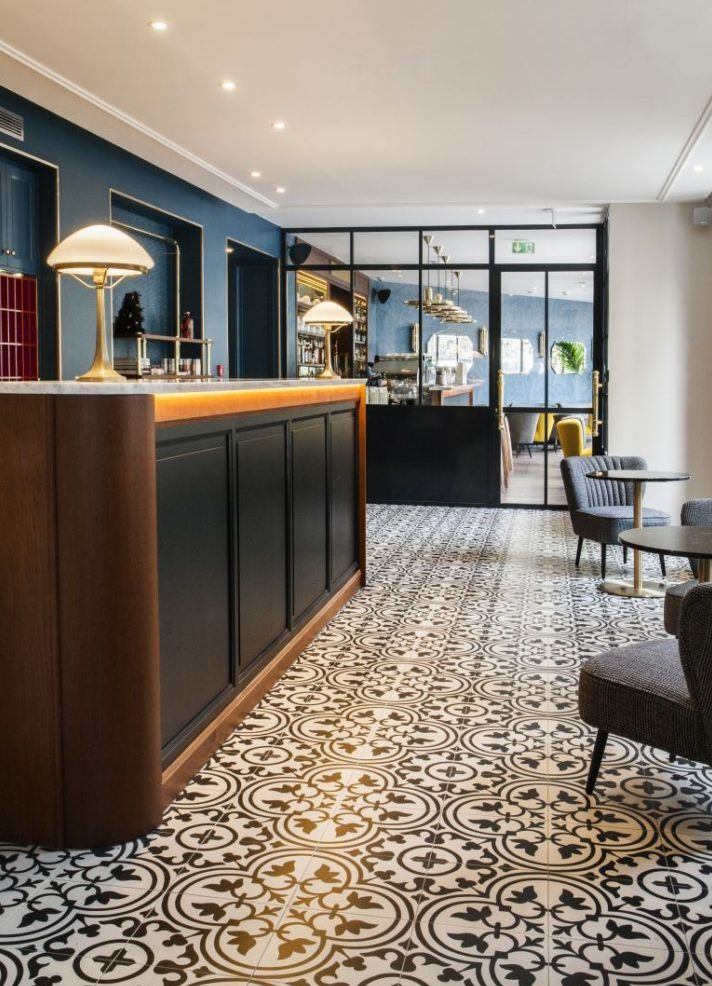Andre Latin Hotel gorund floor tiles