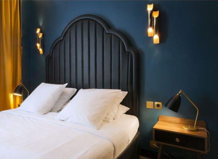 Andre Latin Hotel headboard bedroom