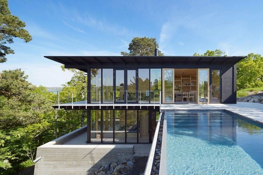 andreas martin lof arkitekter - Nice Houses With Swimming Pools