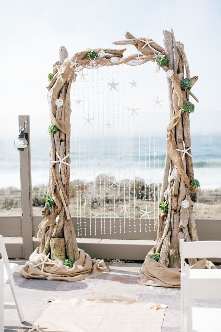 Bohemian Beach Wedding Decor