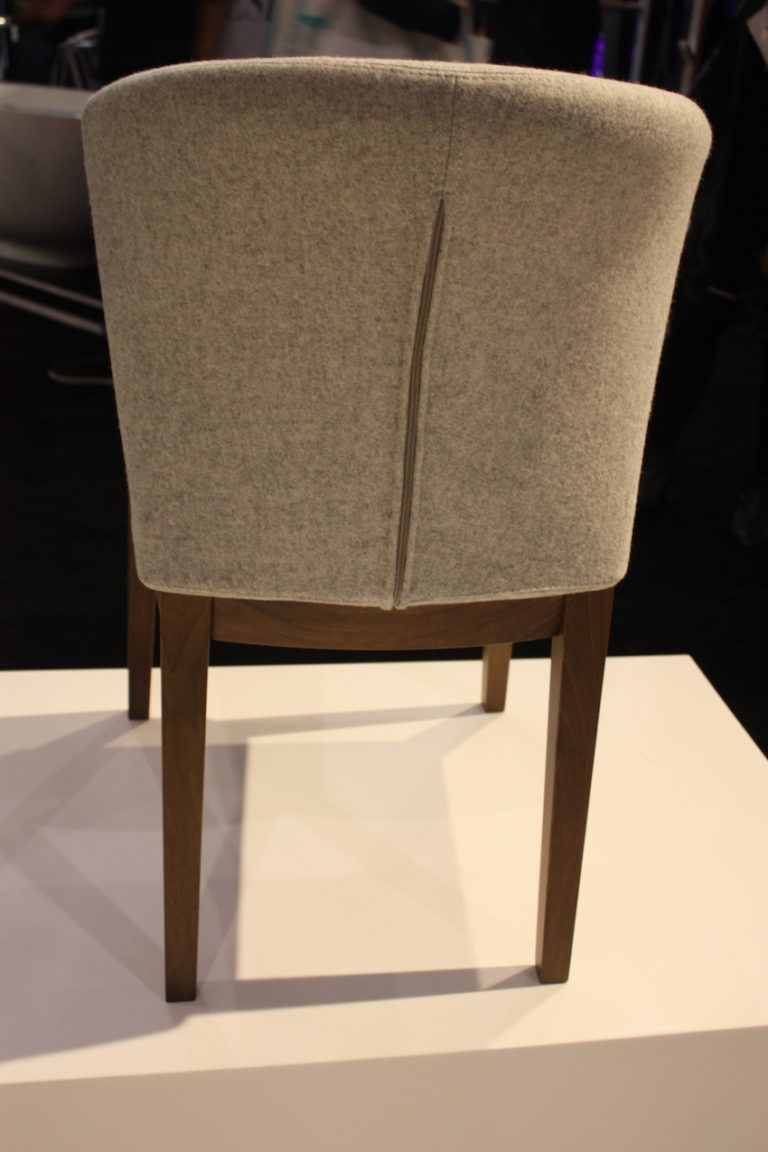 The detail on the back of this Capri chair from Soho Concept helps make the piece special. We're of an opinion that the back should be as beautiful as the front.