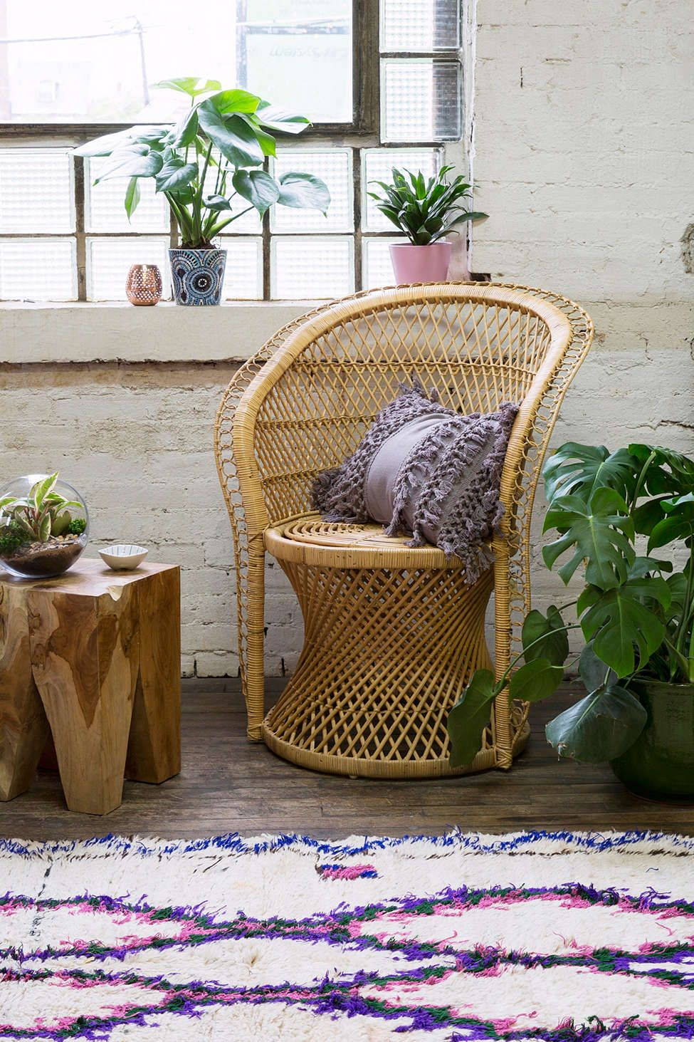 Carlie Rattan Chair
