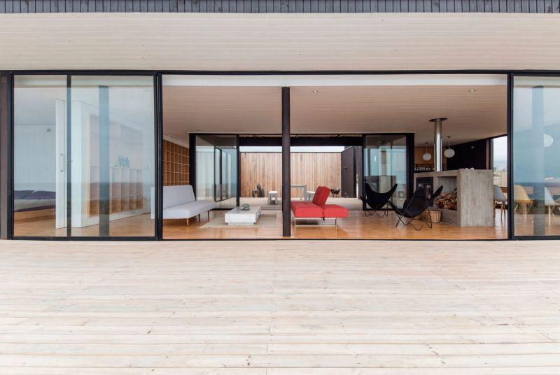 Casa C14 interior living spaces