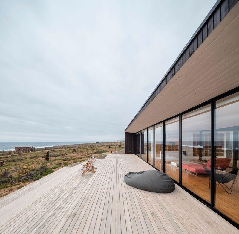 Casa C14 outdoor deck