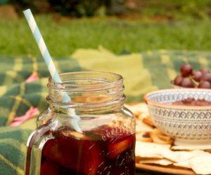 梅森罐柑橘夏季桑格里亚