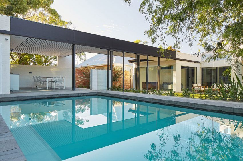 claremont residence with swimming pool - Outdoor House Pools