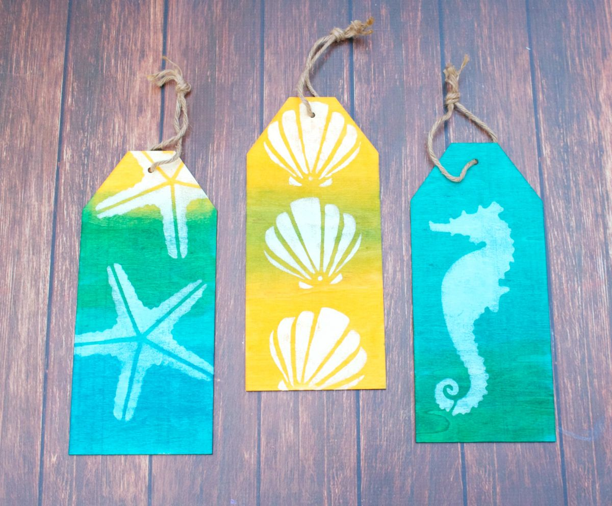 Coastal Themed Wood Tag Decor- 954bartend.info