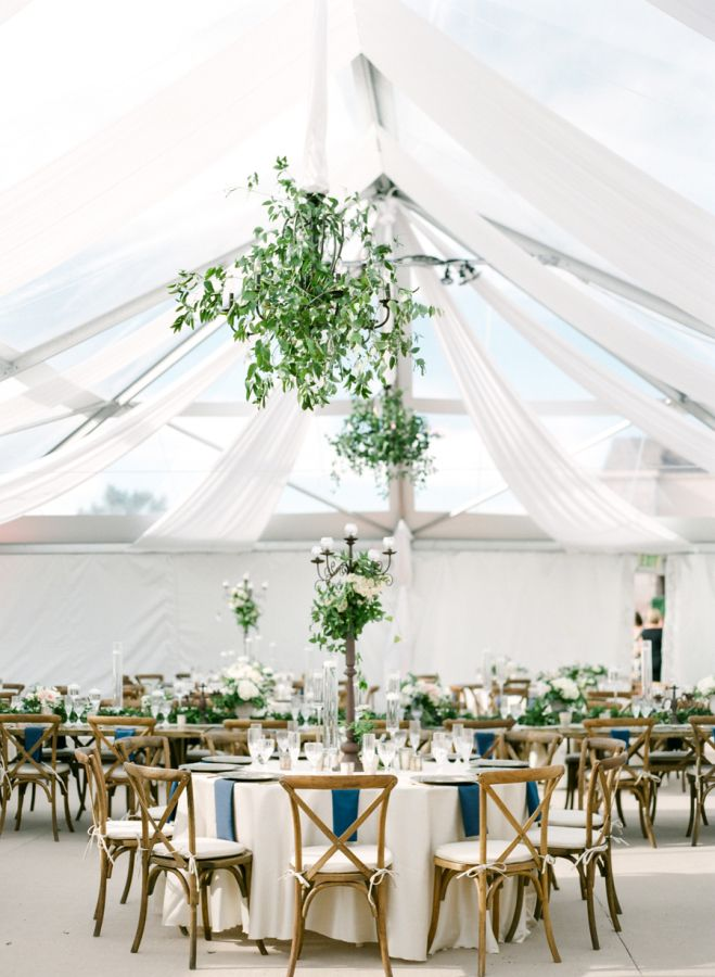 Colorado wedding tent