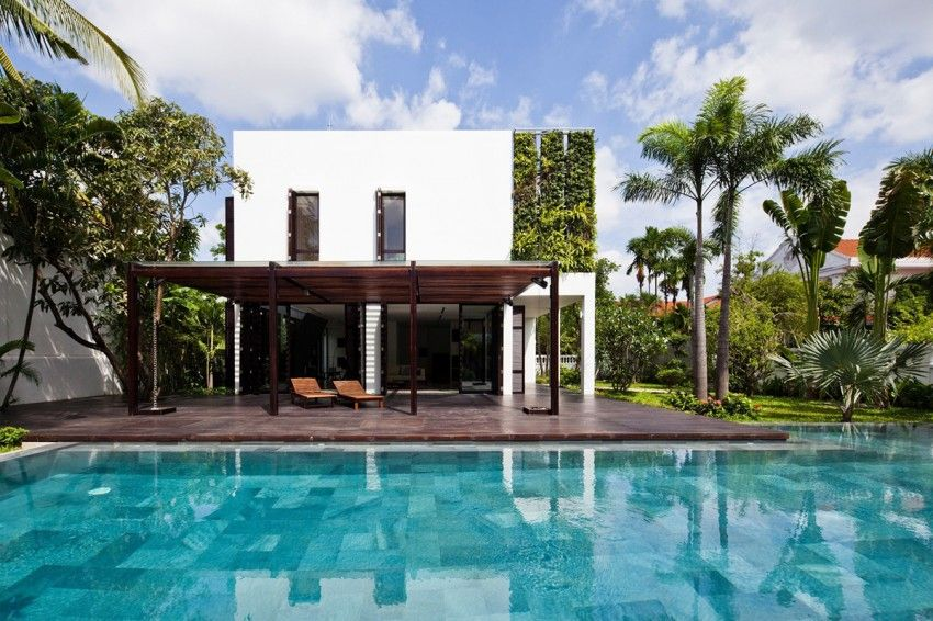 Contemporary house in ho chi minh