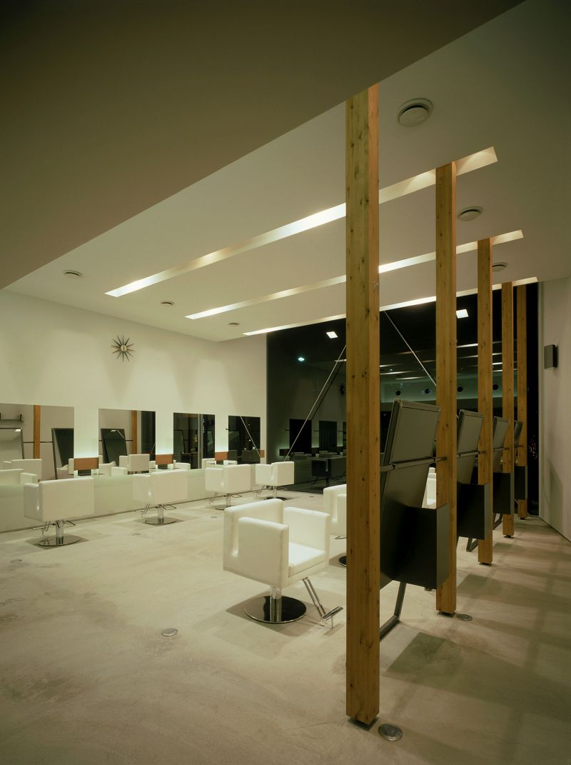 Coo hair Eclat atelier wood beams