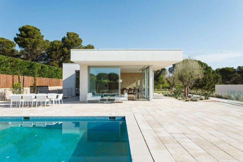 Costa calsamiglia house with pool and an amazing garden