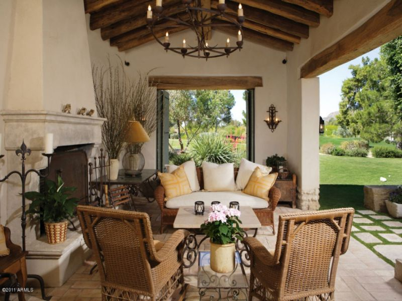 The ultimate inspiration for spanish styling for Mexican porch designs