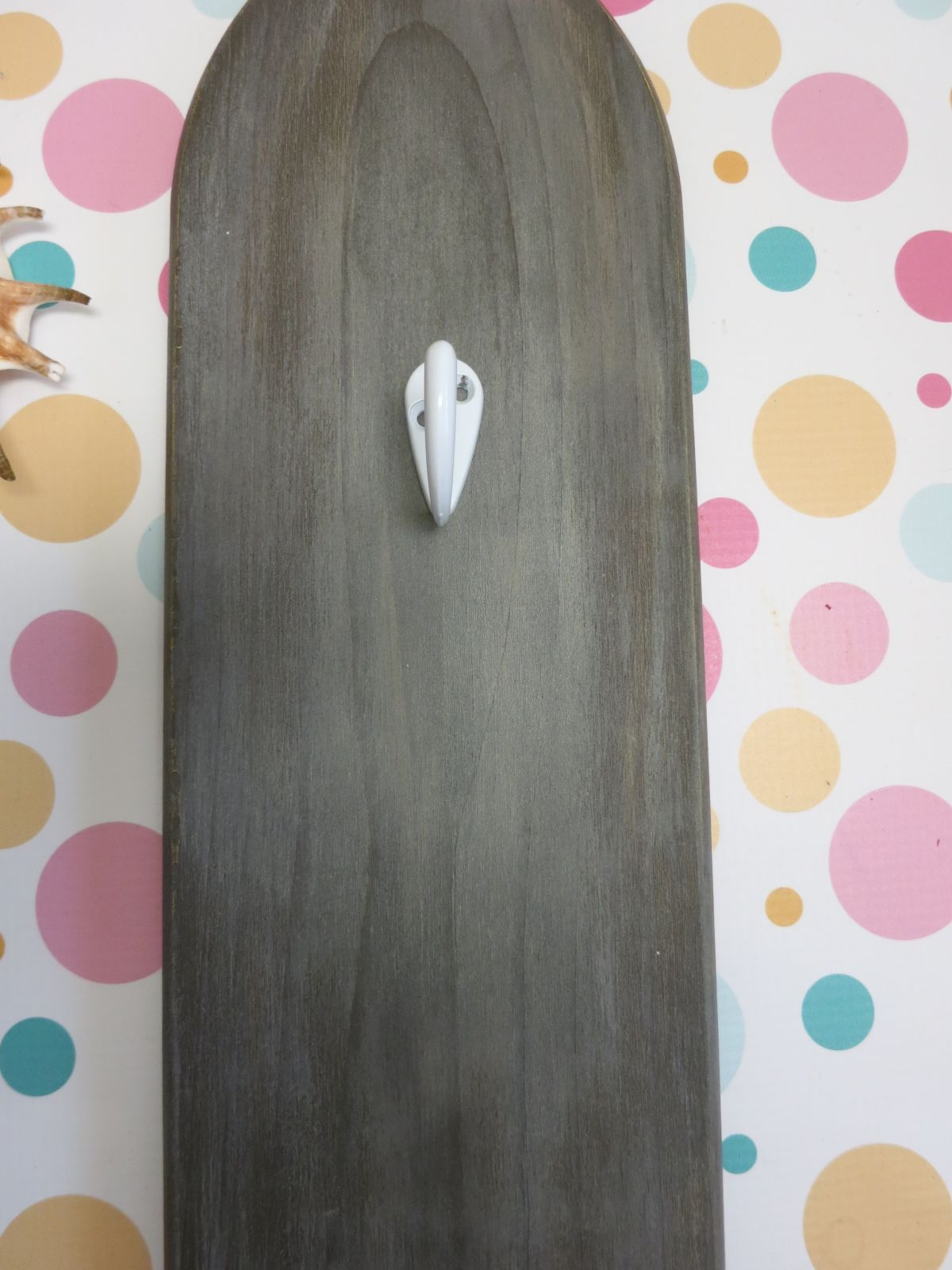 DIY Paddle Towel Hook Home Decor Hang