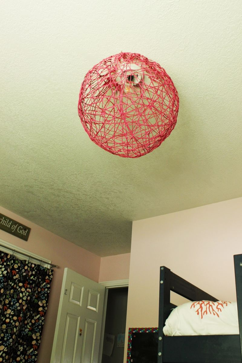 DIY String Globe Light Craft