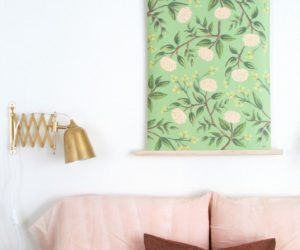 DIY Wall Decor For a Serene Bedroom