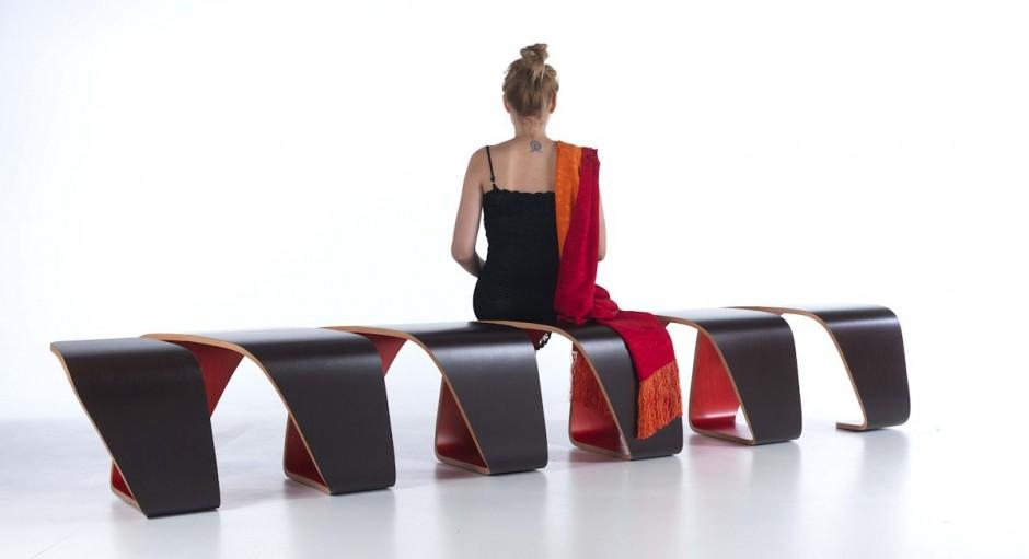 DNA Bench by True Design Black
