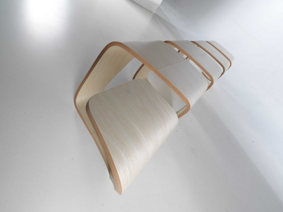 DNA Bench by True Design Curved
