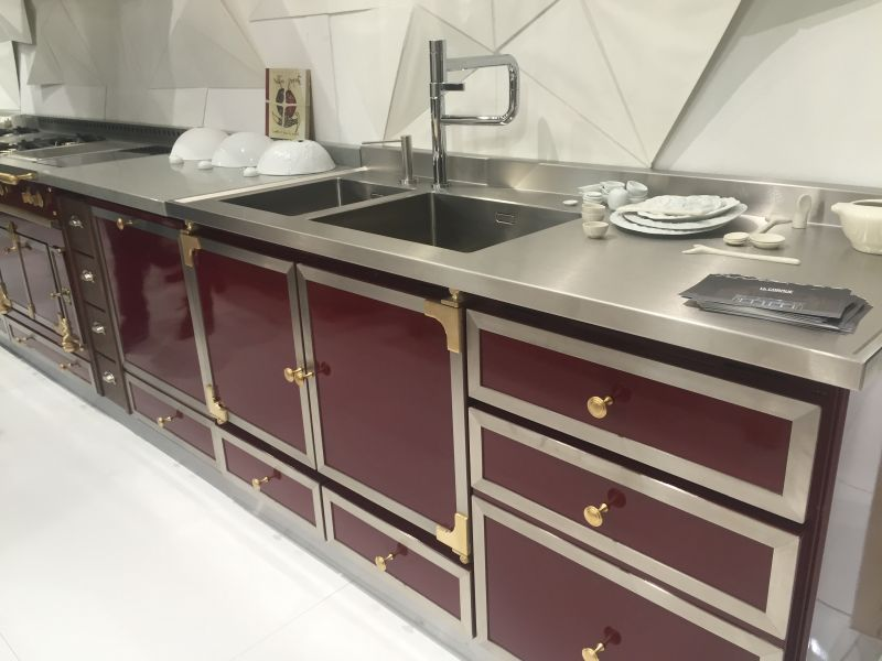 Deep Red La Cornue Kitchen design