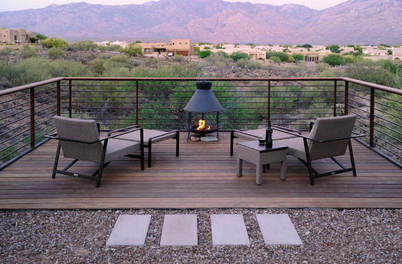Desert deck view