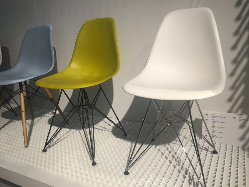 Dining room chairs in chartreuse