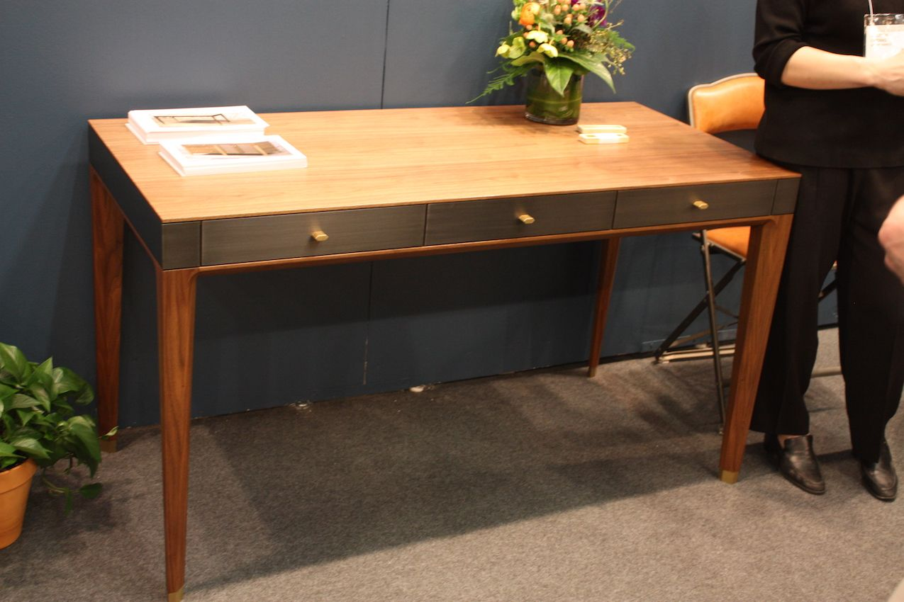 Elegant desk with a sleek finish