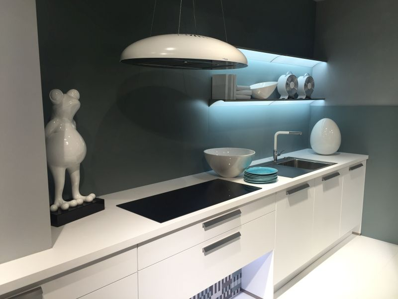Floating Shelves With Led Under Cabinet Lighting