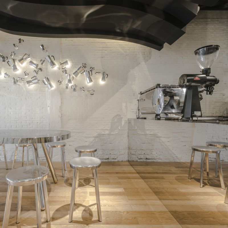 Fumi cafe decorative wall