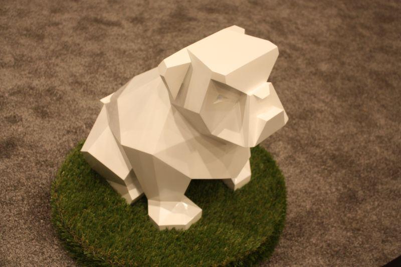Geometric dog furniture accessories
