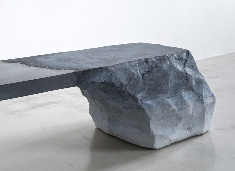Glaciers and natural earth formations Bench Design