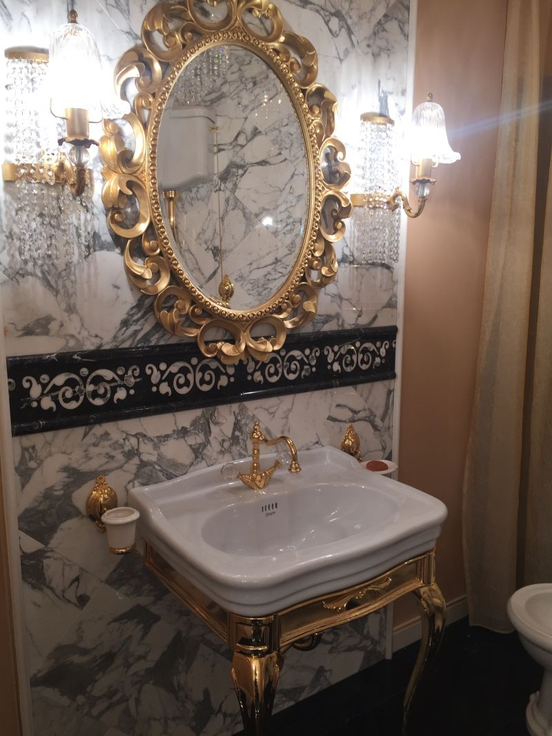 Antique Mirror Bathroom Vanity