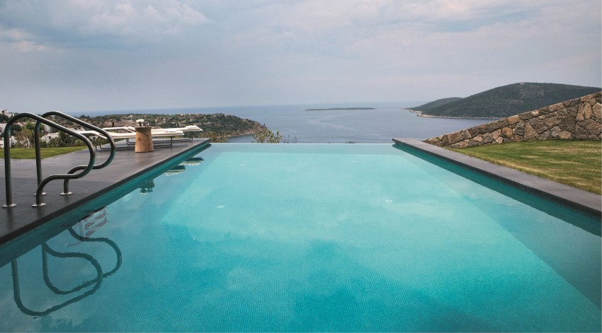 Hebil Bay in Bodrum Pool