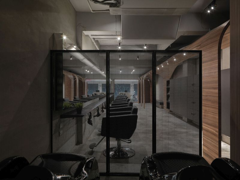 How Fun Hair Salon Design by JC Architecture divider