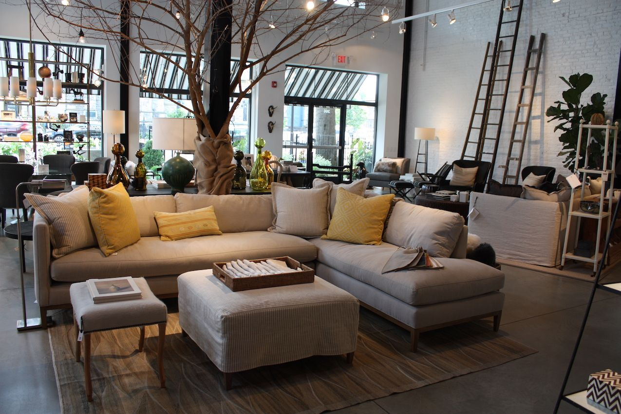 High Quality Touches Of Nature Give The Store An Organic Backdrop For All Of The  Versatile, Comfortable