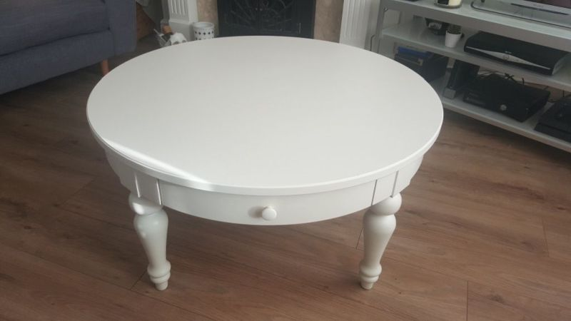 Isla coffee table in white from IKEA