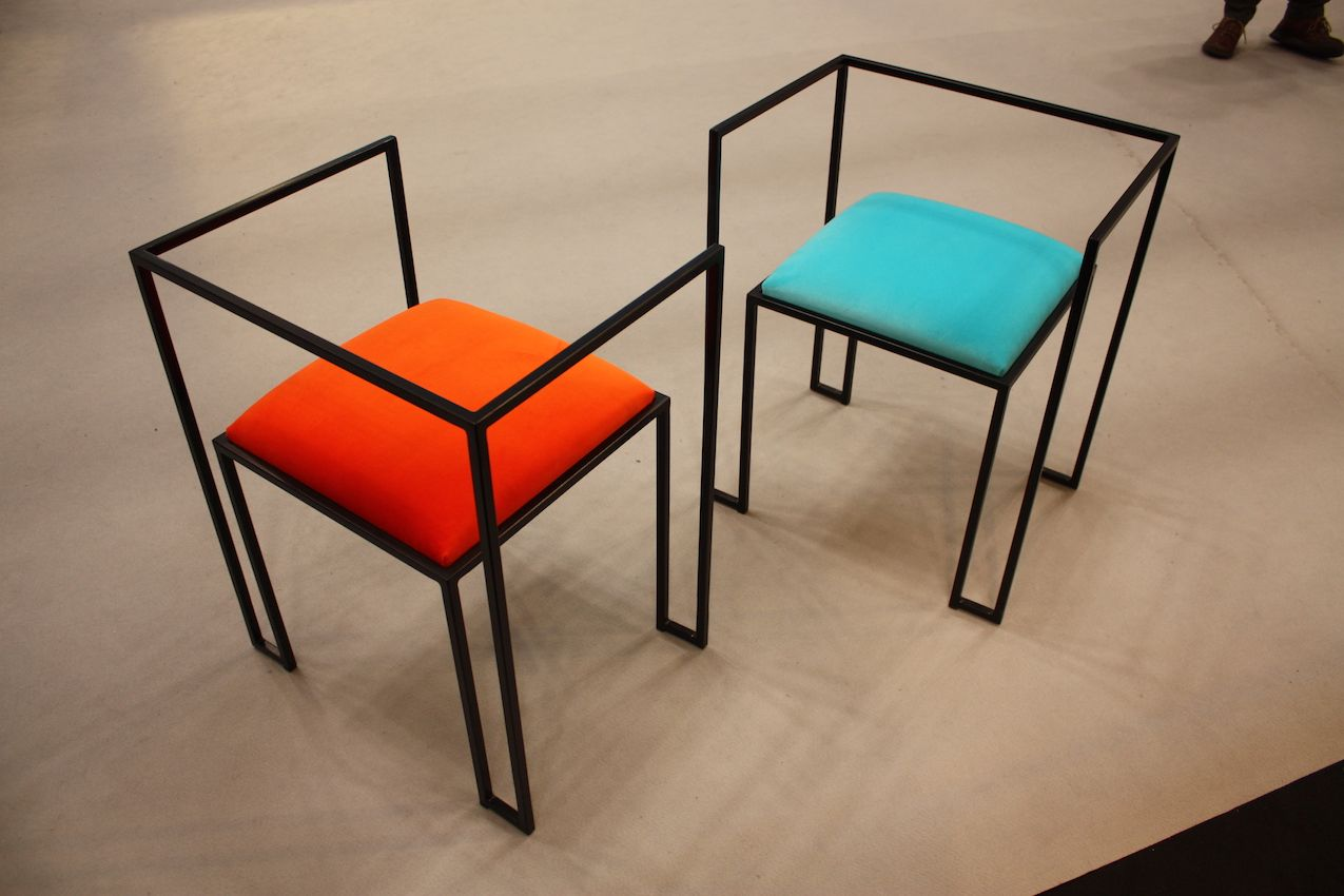 Italian Luxiry chairs with an airy feel