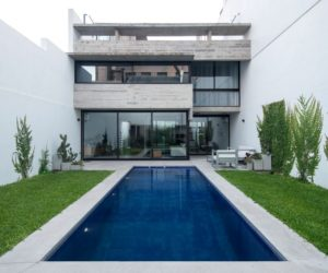 Joint residence in buenos aires with a lap pool