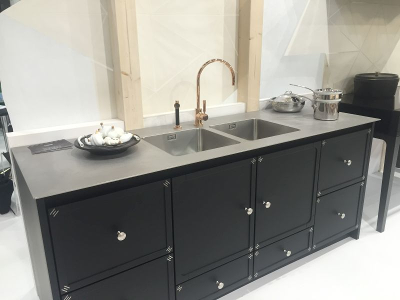La cornue kitchen in black