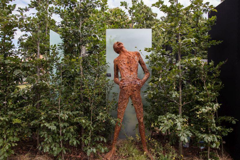 Large garden statue