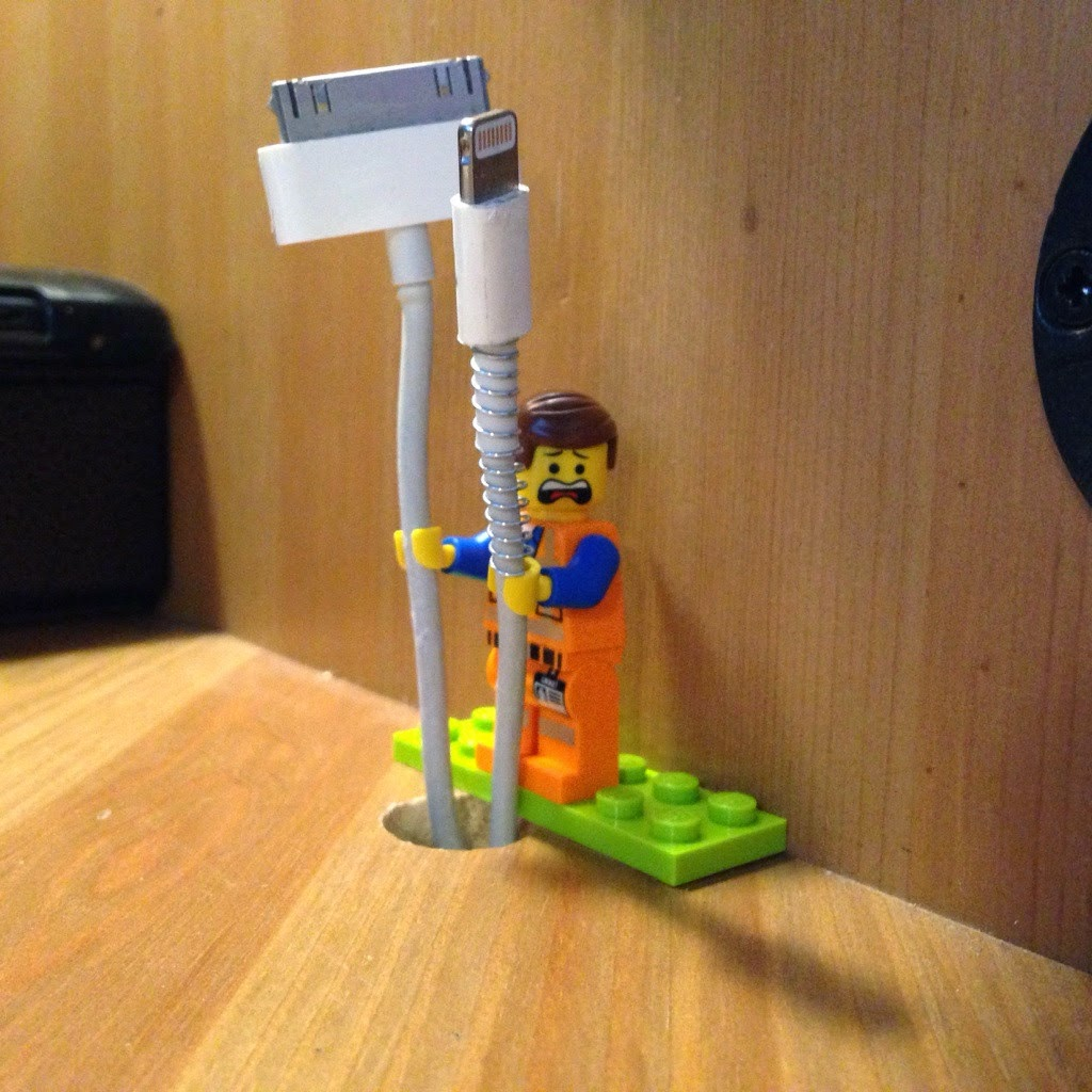 Lego Wire Holder Worker